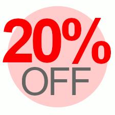 20% Off Overstock Sale