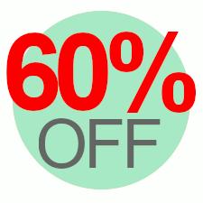 60% Off Overstock Sale