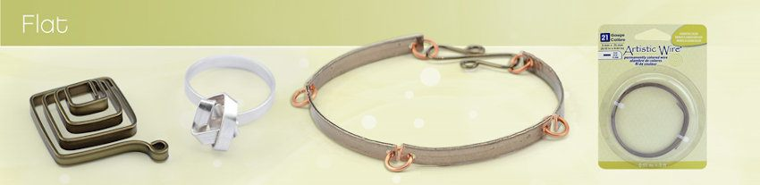 Flat Artistic Wire