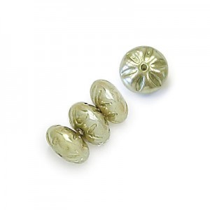 6mm Olivine Pearl Baroque Spacer Pearls (600pc)
