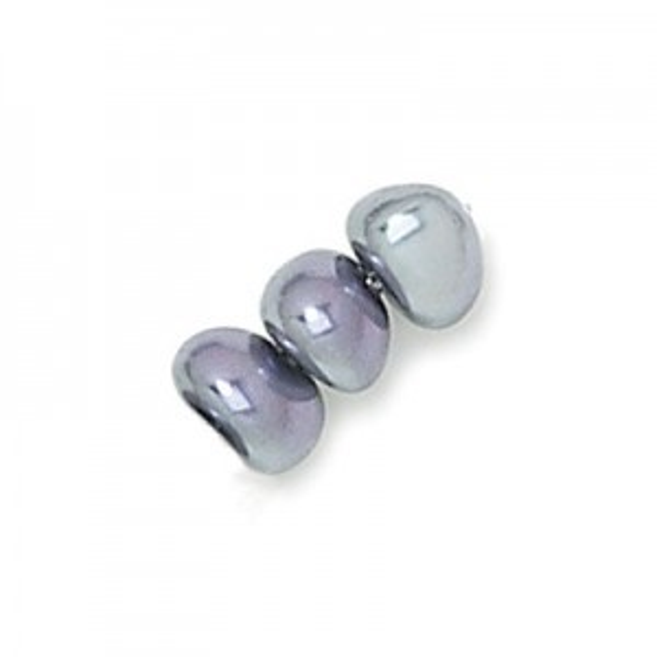 4x6mm Light Amethyst Iris Potato Shaped Czech Glass Pearls (600pc)