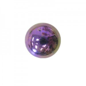 5mm Purple Iris Round Cabochons