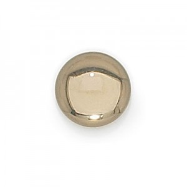 13mm Black Diamond Transparent Round Glass Cabochons