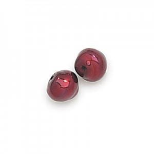 8mm Burgundy Pearl Snail Baroque Pearls (300pc)