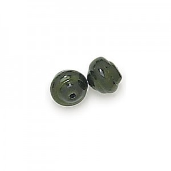 8mm Hunter Green Pearl Snail Baroque Pearls (300pc)