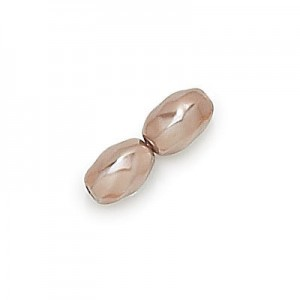 14x8mm Cocoa Pearl Oval Twist Shaped Pearls (150pc)