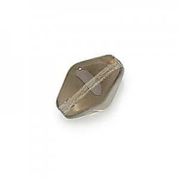 11x7mm Black Diamond Lantern Czech Glass Beads Loose (300pc)