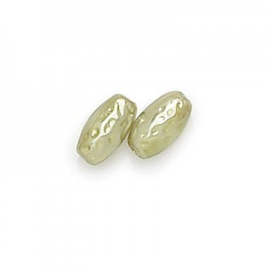 10x5mm Olivine Pearl Oval Baroque Pearls (300pc)