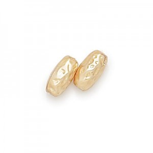10x5mm Gold Pearl Oval Baroque Pearls (300pc)