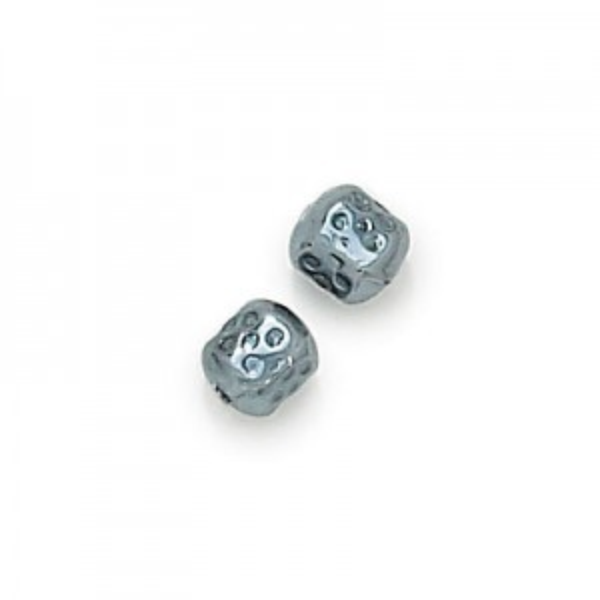 6mm Hematite Pearl Barrel Baroque Pearls (600pc)