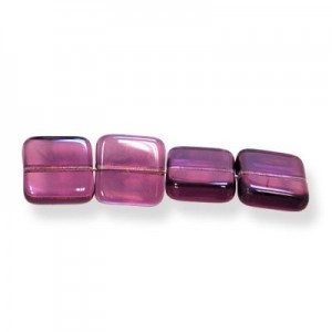 9mm Amethyst Flat Square Loose (300pc)