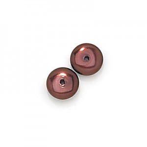 3x8mm Bronze Pearl Smooth Spacer Pearls (300pc)