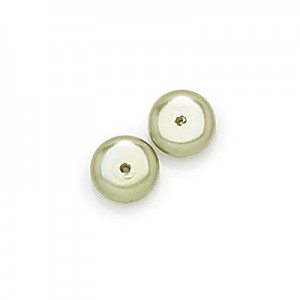 3x8mm Olivine Pearl Smooth Spacer Pearls (300pc)