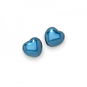 12x12mm Montana Heart Shaped Pearls (150pc)