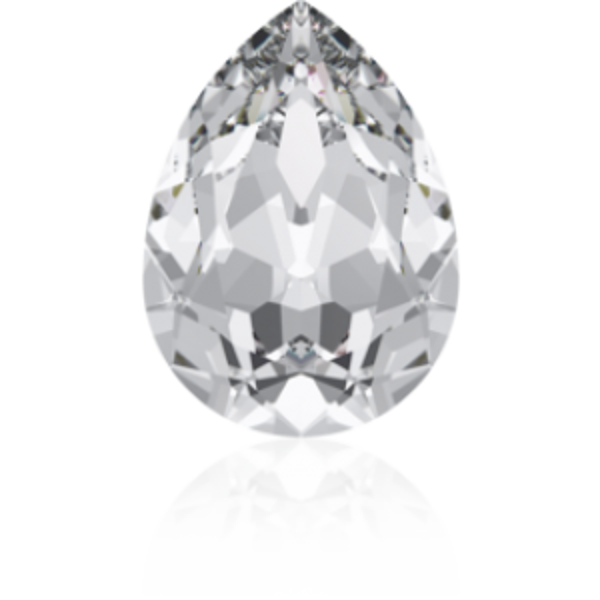 18x13mm Fancy Pear Crystal Foiled Art. 4320 Swarovski® Austrian Crystal Stones