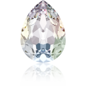 8x6mm Fancy Pear Crystal AB Foiled Art. 4320 Swarovski® Austrian Crystal Stones