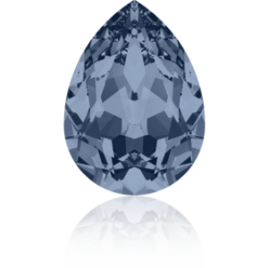 8x6mm Fancy Pear Denim Blue Foiled Art. 4320 Swarovski® Austrian Crystal Stones