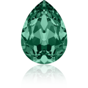 18x13mm Fancy Pear Emerald Foiled Art. 4320 Swarovski® Austrian Crystal Stones