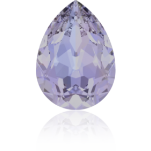 18x13mm Fancy Pear Provence Lavender Foiled Art. 4320 Swarovski® Austrian Crystal Stones