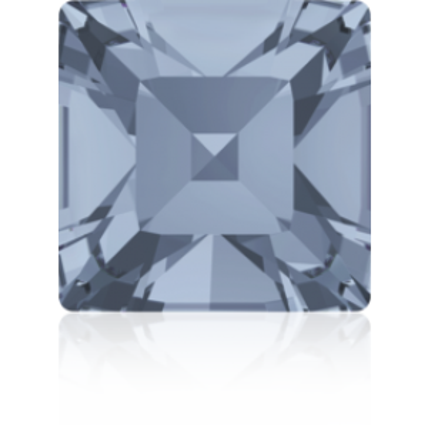 3mm Fancy Square Xilion Crystal Blue Shade Foiled Art. 4428 Swarovski® Austrian Crystal Stones