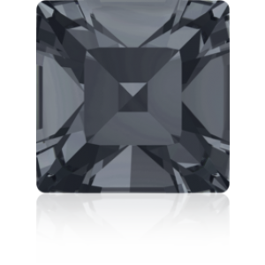 4mm Fancy Square Xilion Crystal Silver Night Foiled Art. 4428 Swarovski® Austrian Crystal Stones