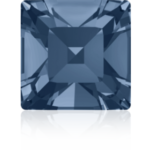 4mm Fancy Square Xilion Denim Blue Foiled Art. 4428 Swarovski® Austrian Crystal Stones