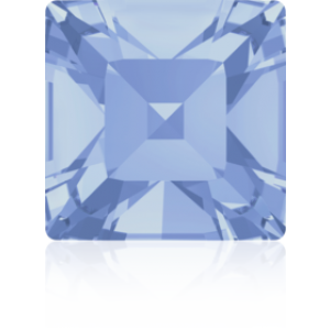 8mm Fancy Square Xilion Light Sapphire Foiled Art. 4428 Swarovski® Austrian Crystal Stones