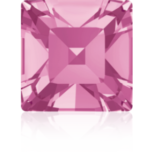6mm Fancy Square Xilion Rose Foiled Art. 4428 Swarovski® Austrian Crystal Stones