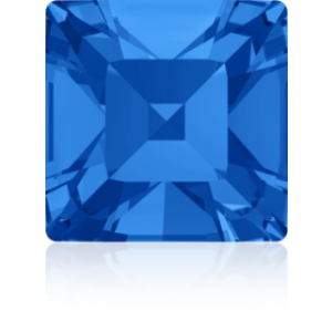 2mm Fancy Square Xilion Sapphire Foiled Art. 4428 Swarovski® Austrian Crystal Stones