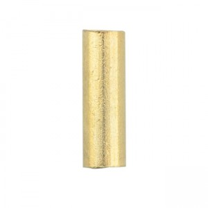 Artistic Wire® Large Wire Crimp Tubes 10mm (0.4in) Tarnish Resistant Gold Color for 12 ga wire ID 2.2mm (0.086in)