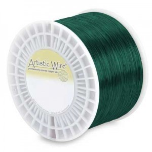 Artistic Wire® 26 Gauge Green - Priced by The Pound (Apx 1250 Feet)