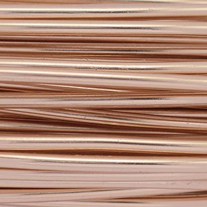 Artistic Wire® Aluminum Craft Wire 12 Gauge (2.1mm) Round Anodized Copper Color 39.3ft (12m)