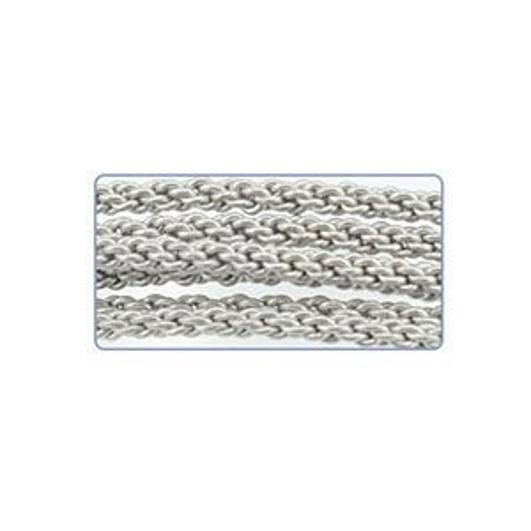 Artistic Wire® 14 Gauge (1.6mm) Braid Round Stainless Steel 5ft (1.5m)