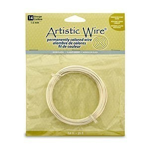 Artistic Wire® 14s Gauge Tarnish-Resistant Silver 25ft