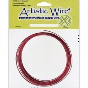 Artistic Wire® 16 Gauge Red 10ft