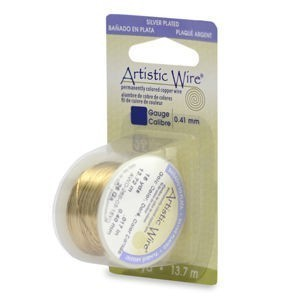 Artistic Wire® 18s Gauge Gold Color 4yd