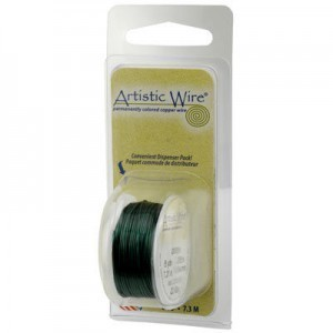 Artistic Wire® 26 Gauge Green 15yd