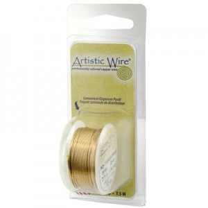 Artistic Wire® 26 Gauge Bare Copper 15yd