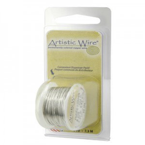 Artistic Wire® 26 Gauge Tinned Copper 15yd