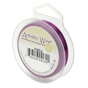 Artistic Wire® 20 Gauge Purple 15yd