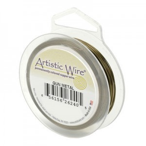 Artistic Wire® 20 Gauge Antique Brass 15yd