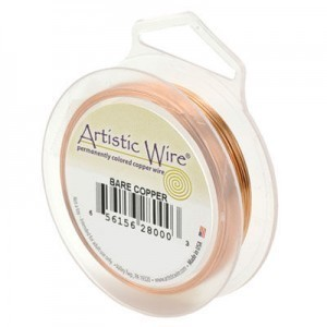 Artistic Wire® 20 Gauge Bare Copper 15yd