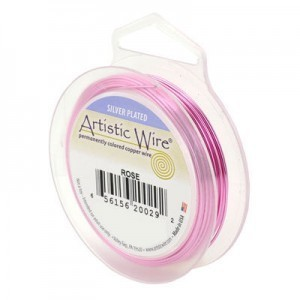 Artistic Wire® 20s Gauge Rose 25ft