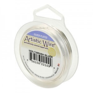 Artistic Wire® 18s Gauge Tarnish-Resistant Silver 20ft