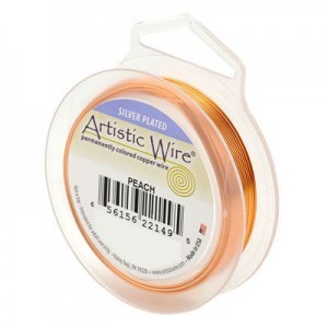 Artistic Wire® 20s Gauge Peach 25ft