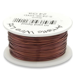 Artistic Wire® 26 Gauge Brown 1/4lb (Apx 105 Yards)