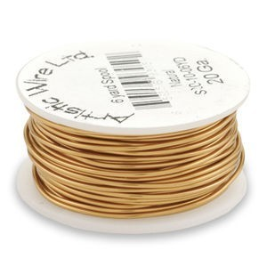 Artistic Wire® 22 Gauge Natural 1/4lb (Apx 41 Yards)