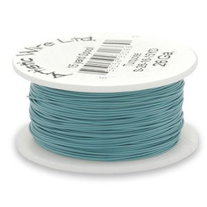 Artistic Wire® 28 Gauge Turquoise 1/4lb (Apx 165 Yards)