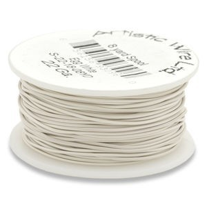 Artistic Wire® 22 Gauge Egg White 1/4lb (Apx 41 Yards)