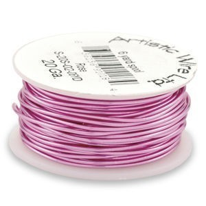 Artistic Wire® 28s Gauge Rose 1/4lb (Apx 165 Yards)